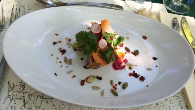 Restaurant jardin du quai isle sur la sorgue hotelrestovisio - Le jardin du quai isle sur la sorgue ...