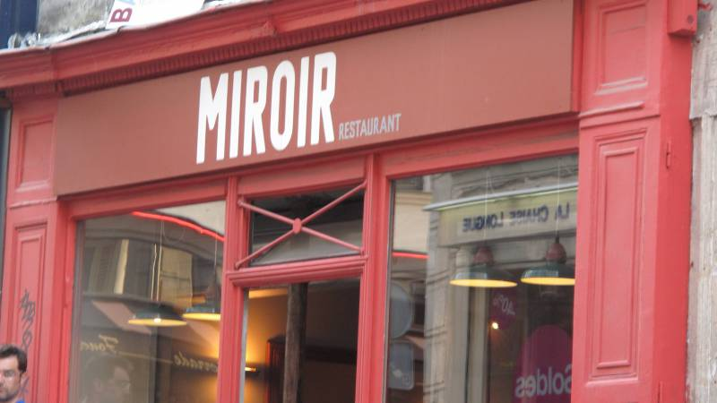 Restaurant miroir paris hotelrestovisio france for Restaurant miroir paris