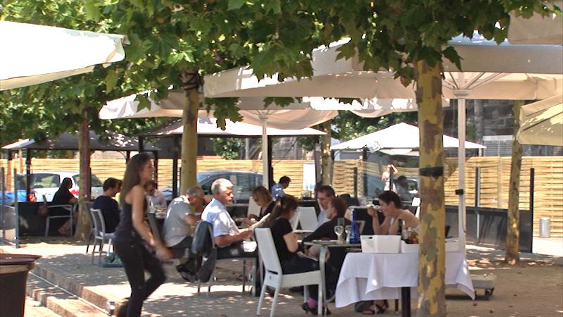 Restaurant Le Café Barge - Paris