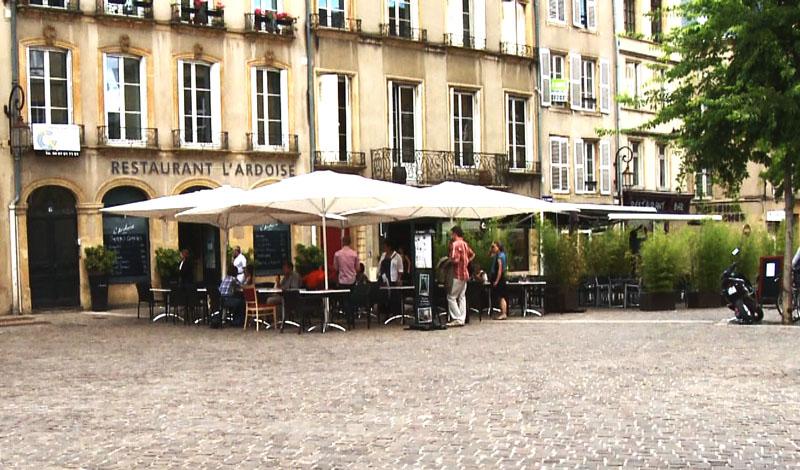 Restaurant l 39 ardoise metz hotelrestovisio france - Restaurants place de chambre metz ...