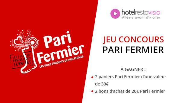Gagnez des paniers gourmands au salon Pari Fermier !