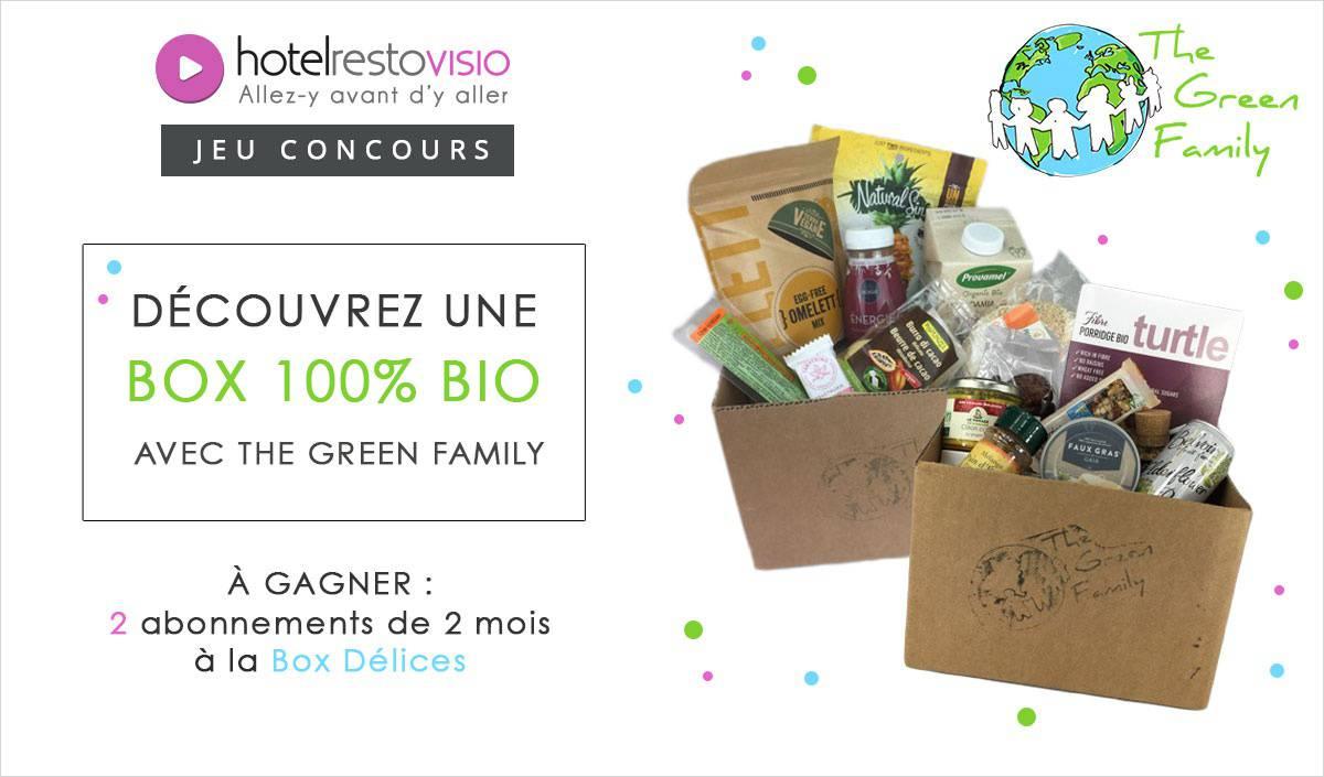 Découvrez une box 100% bio avec The Green Family !