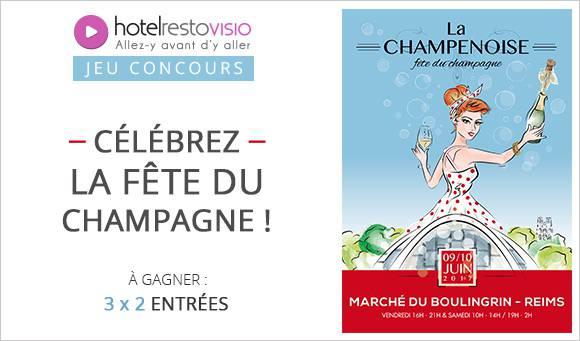 Célébrez la fête du Champagne !