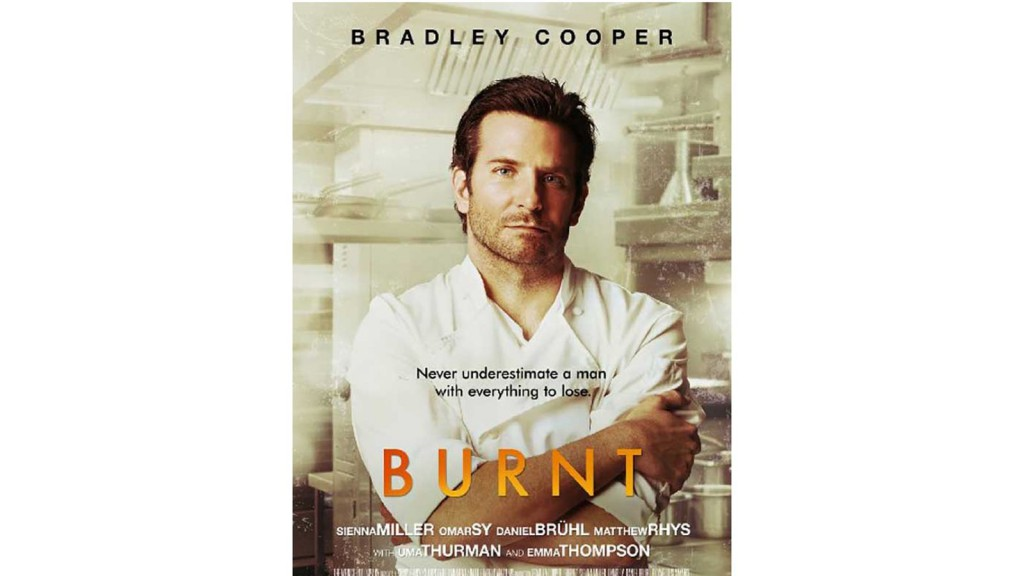 burnt la cuisine a la sauce bradley cooper. Black Bedroom Furniture Sets. Home Design Ideas