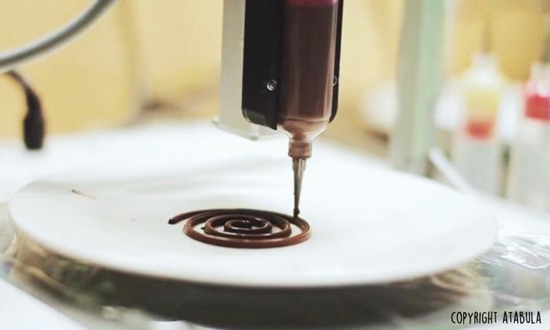 imprimante3Dchocolat