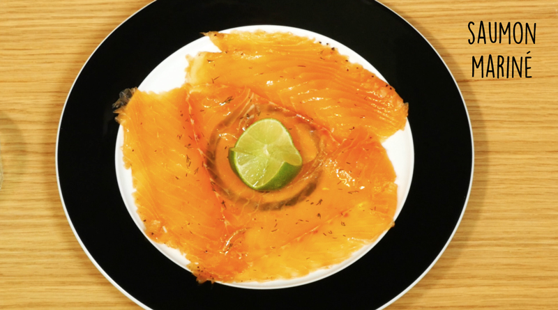 recette edito saumonmariné