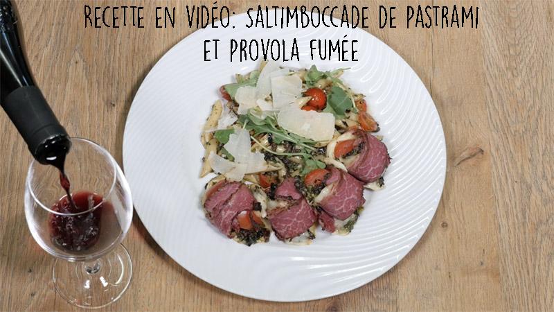 SaltimboccadePastramiProvolafumée
